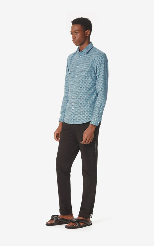 CYAN Slim fit 'Tiger Monograme' shirt for men KENZO