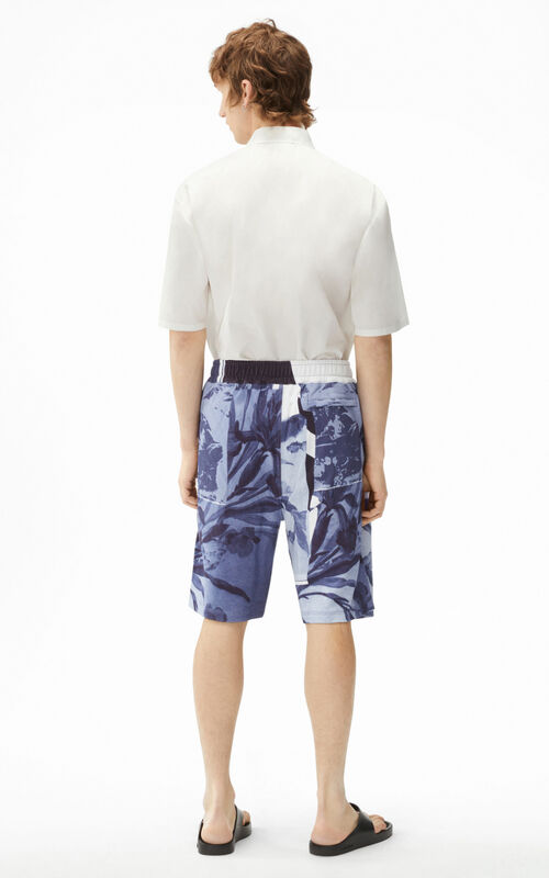 GLACIER 'High Summer Capsule' 'Cut-out Flowers' shorts for women KENZO