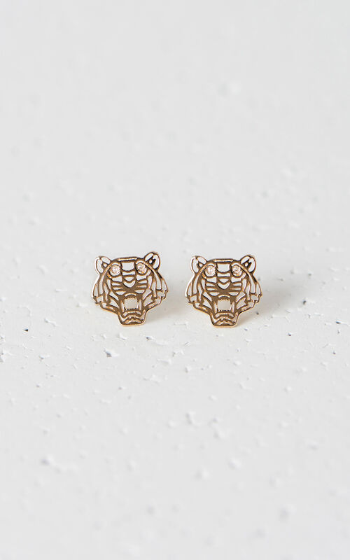 Mini Tiger Earrings, LICENCE 1, KENZO