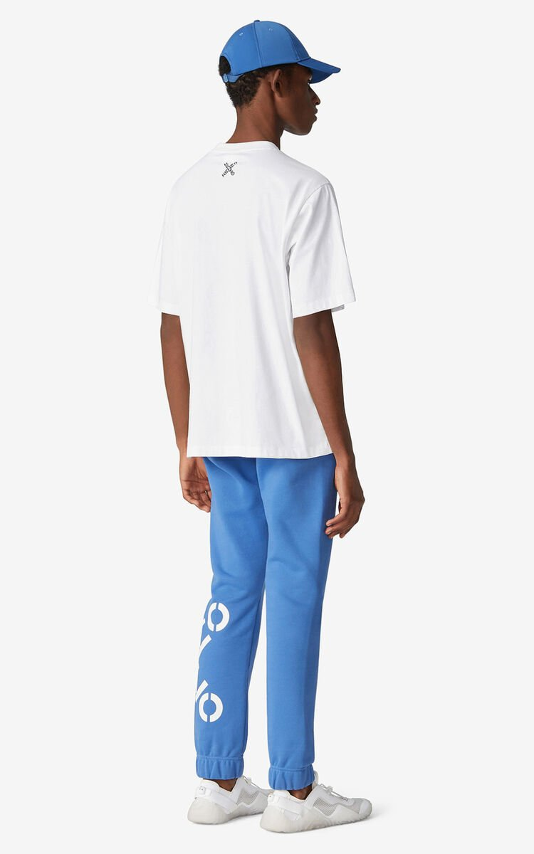 COBALT KENZO Sport 'Big X' joggers for men