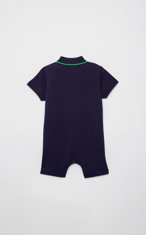 NAVY BLUE Polo shirt romper for women KENZO