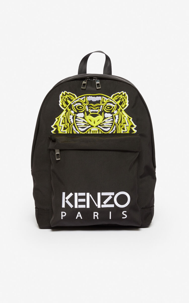 BLACK Large Tiger Rucksack 'High Summer Capsule collection' for unisex KENZO