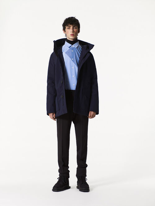NAVY BLUE Quilted Parka for men KENZO