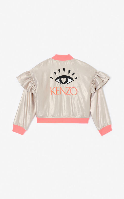 GOLD 'KENZO Party' Eye jacket for women