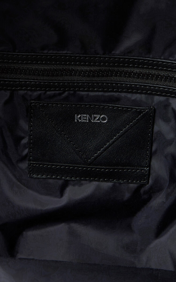 BLACK Medium KENZO Signature backback for women