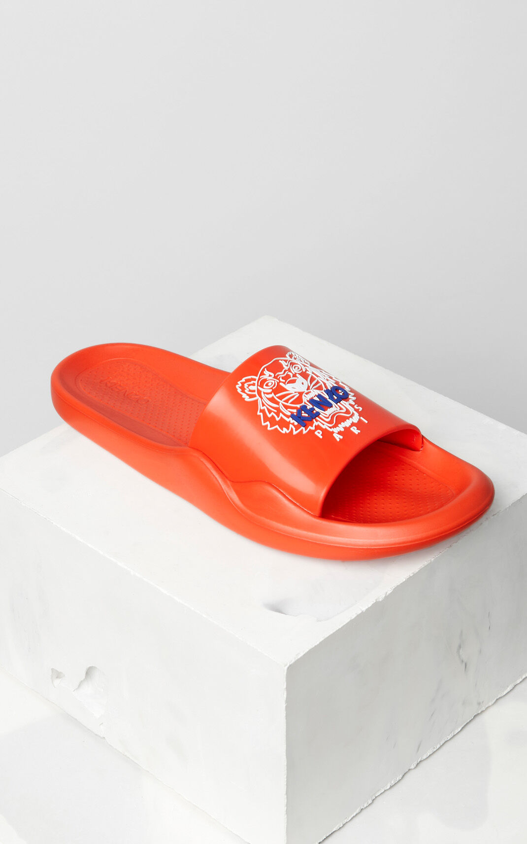 MEDIUM RED Tiger sandals for men KENZO