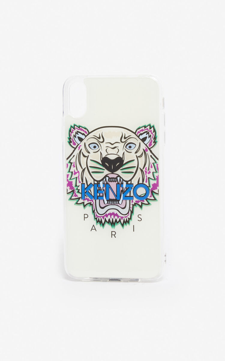 WHITE iPhone XS Max Case for women KENZO