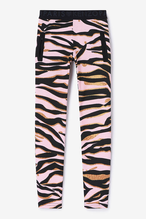 Tiger Stripes Jegging, FADED PINK, KENZO