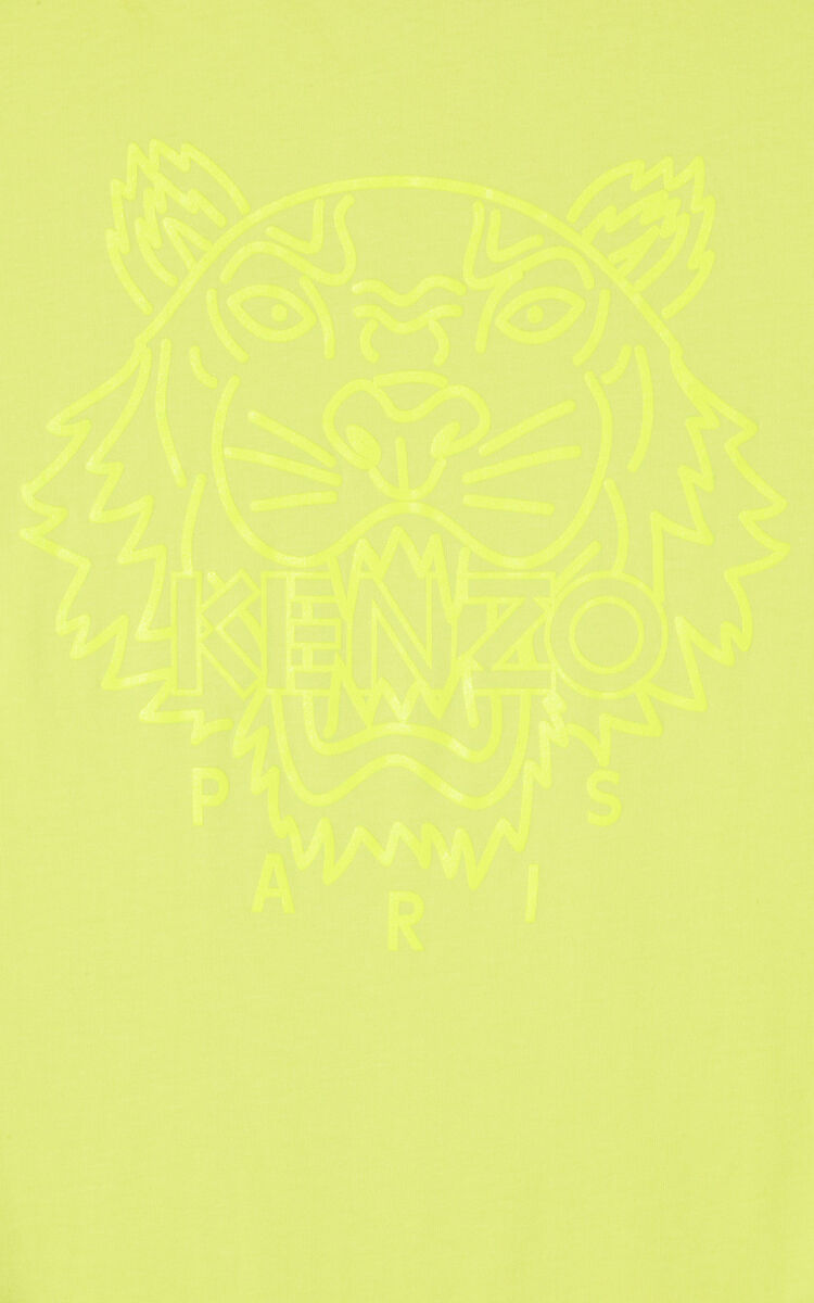 LEMON 'Neon Tiger' T-shirt for women KENZO