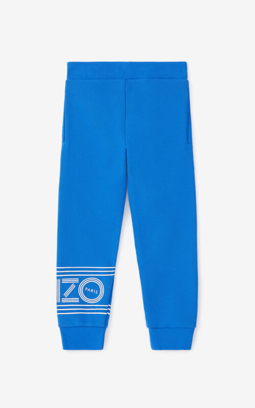 ELECTRIC BLUE KENZO Sport jogging trousers for women