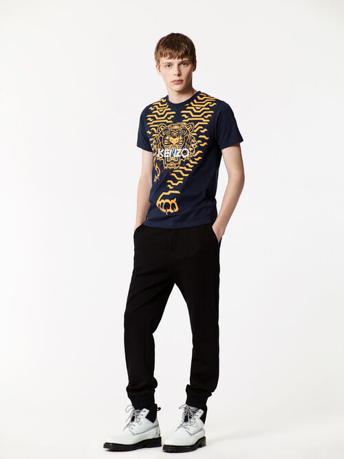 INK Geo Tiger T-shirt for men KENZO