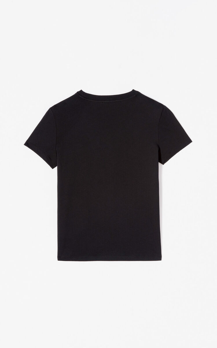 BLACK Tiger T-shirt 'Holiday Capsule' for women KENZO