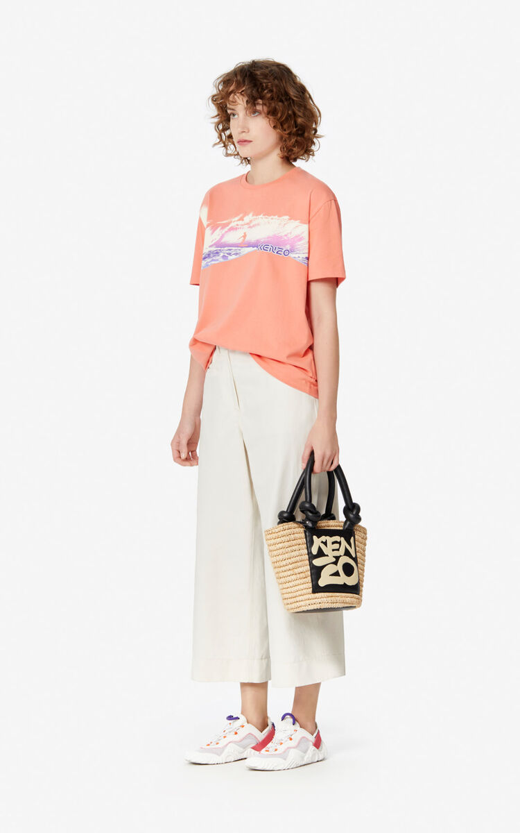 APRICOT 'Waves' t-shirt for women KENZO