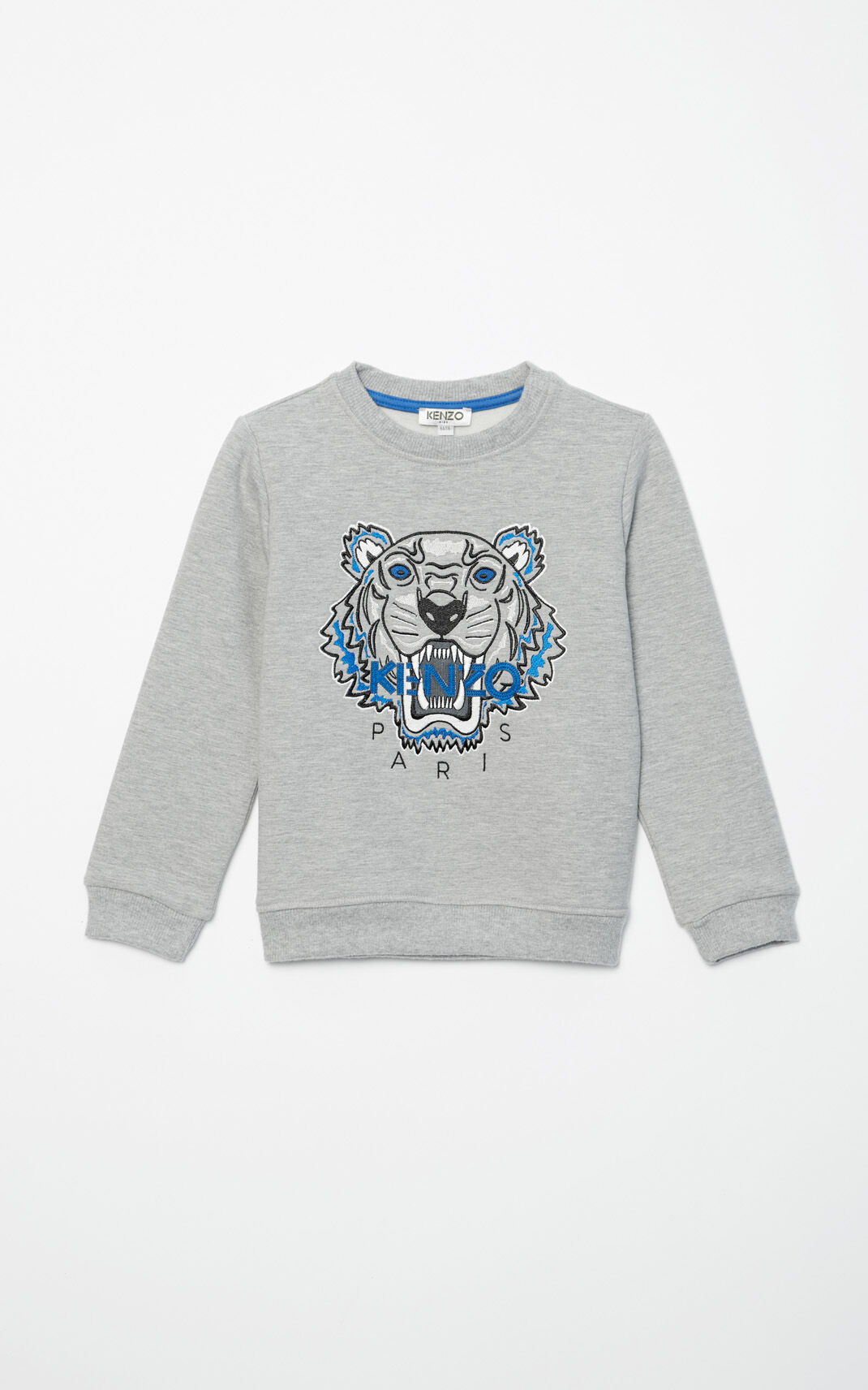PALE GREY Tiger Sweatshirt for global.none KENZO