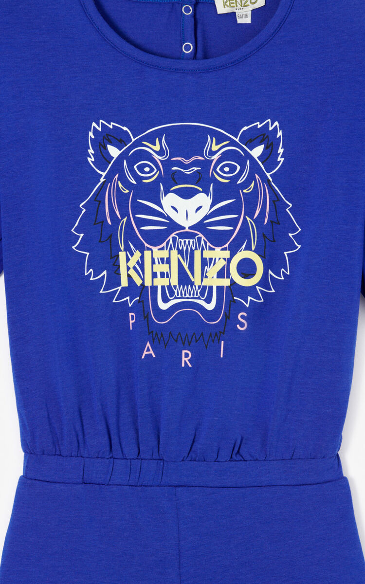 COBALT Tiger playsuit for women KENZO