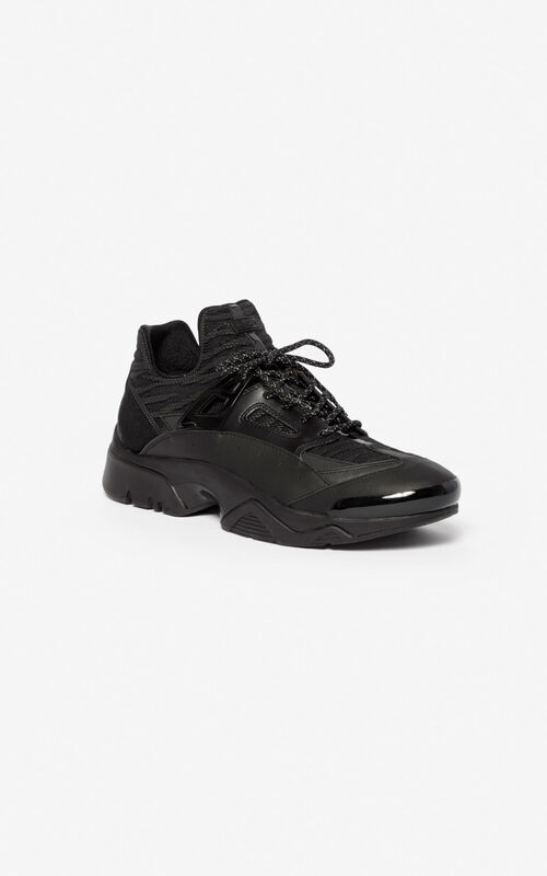 BLACK Sonic trainers for unisex KENZO