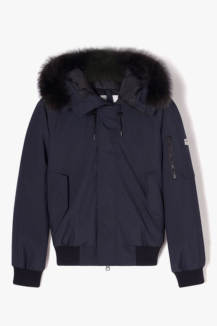 NAVY BLUE Short Parka Puffa for men KENZO