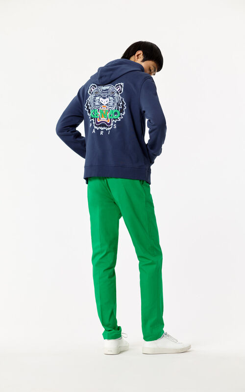 INK Hooded zipped Tiger sweatshirt for women KENZO