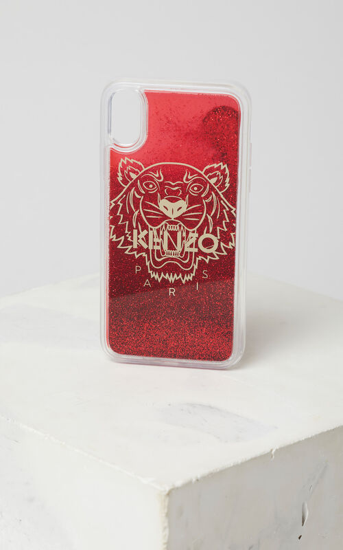 MEDIUM RED iPhone X Tiger Case for unisex KENZO