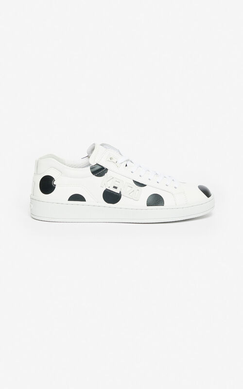 BLACK 'Dots' Tennix sneakers for women KENZO