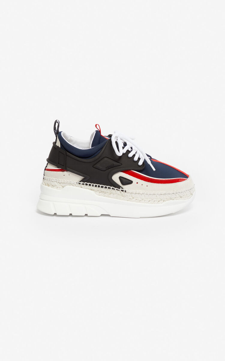 MIDNIGHT BLUE K-Lastic espadrilles for unisex KENZO