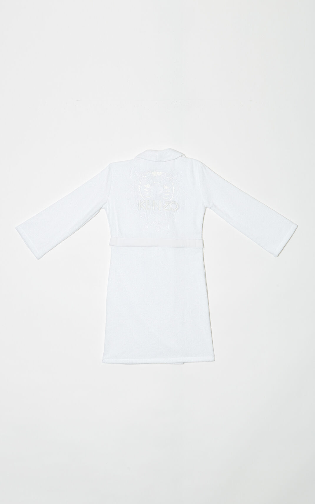 WHITE Tiger Dressing Gown for women KENZO