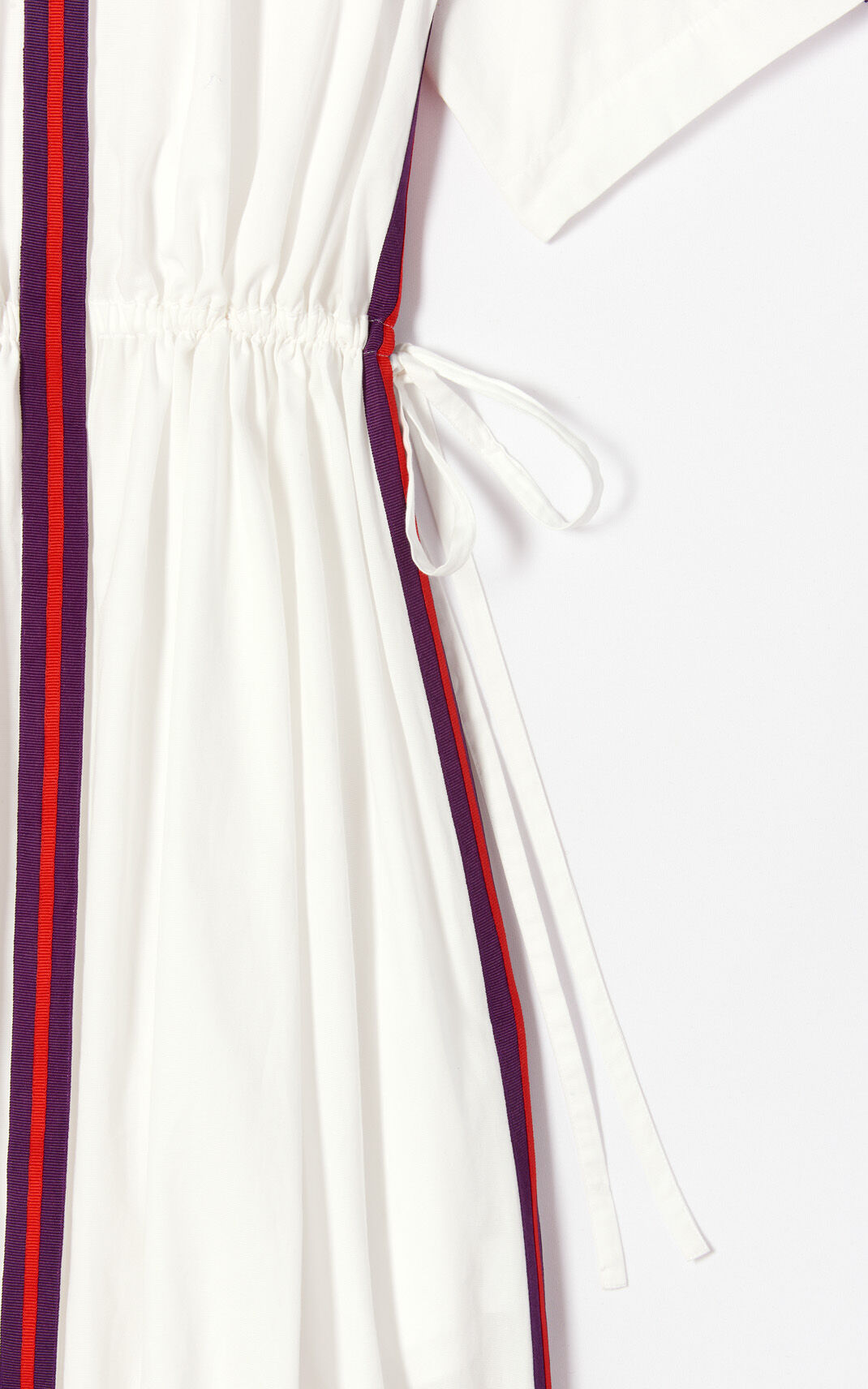 WHITE 'High Summer Capsule Collection' shirt dress for women KENZO