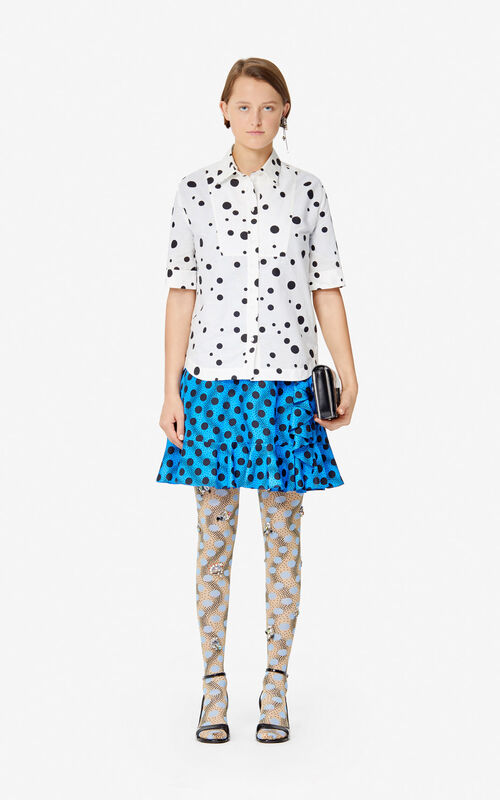 BLACK 'Dots' shirt 'High Summer Capsule collection' for women KENZO