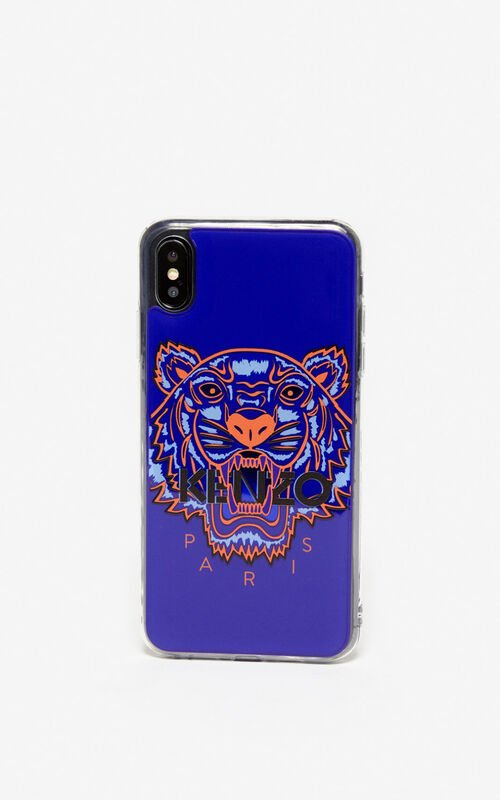 DEEP SEA BLUE iPhone XS Max Case for men KENZO