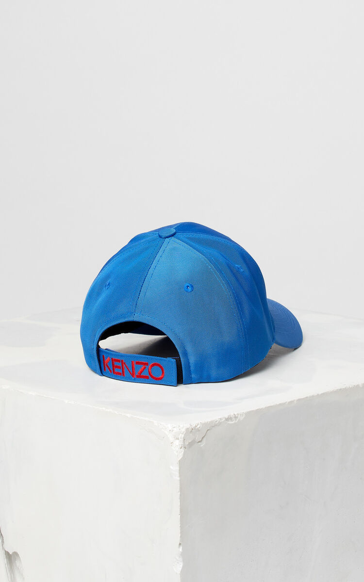 FRENCH BLUE Tiger Canvas Cap for women KENZO