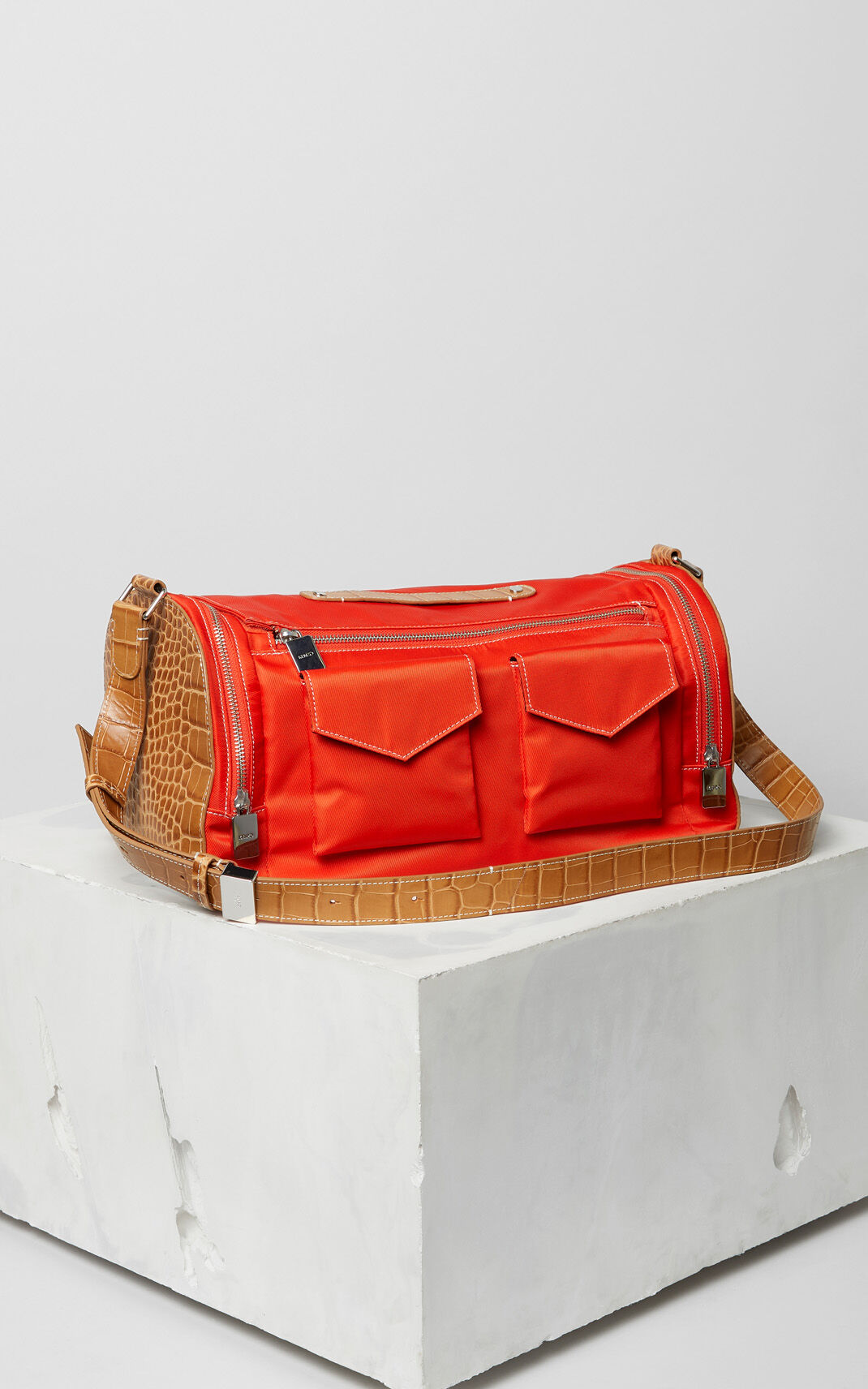 MEDIUM RED Duffle bag for men KENZO