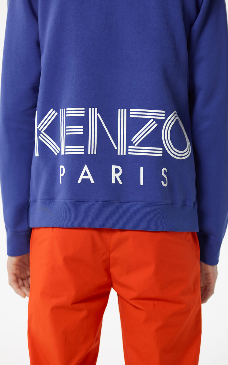 FRENCH BLUE KENZO Logo Sweatshirt for men