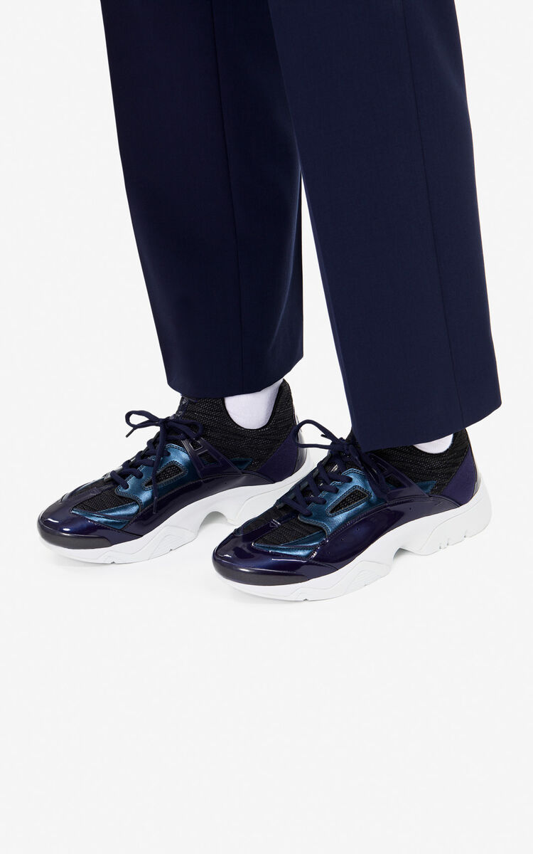 NAVY BLUE Sonic sneakers 'Holiday Capsule' for men KENZO