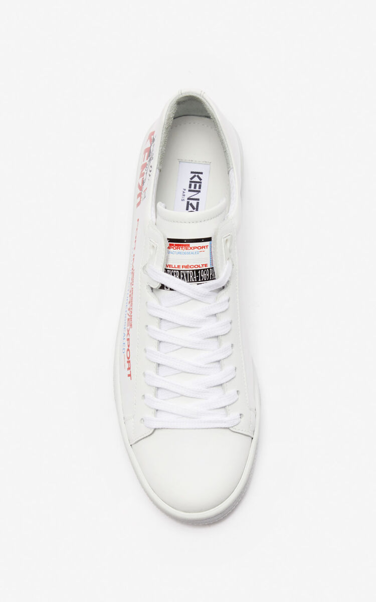 MEDIUM RED 'Rice Bags' Tennix sneakers for women KENZO