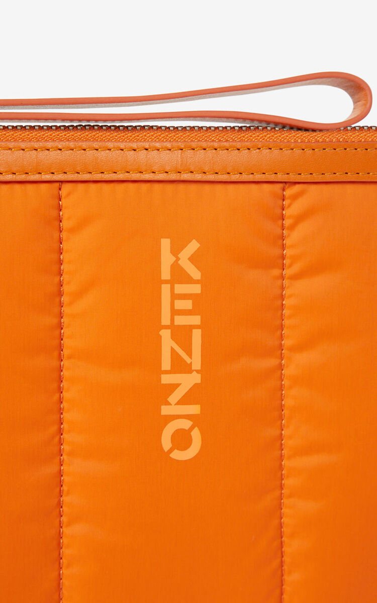 PAPRIKA KENZOMANIA large quilted clutch for unisex