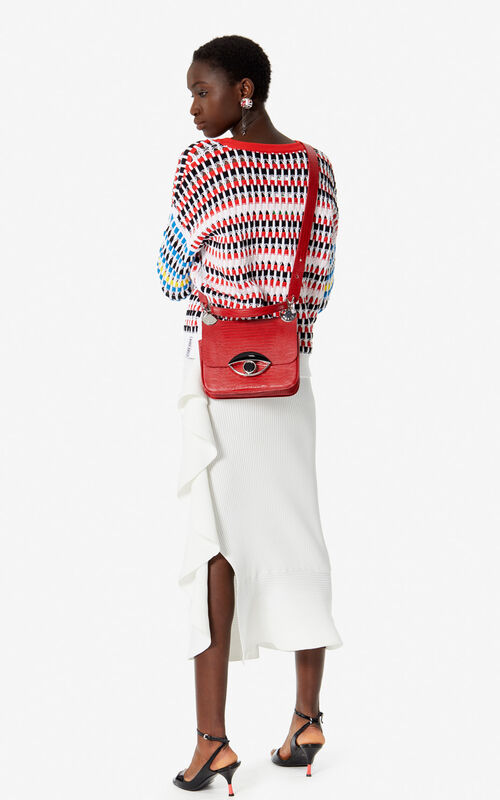 MEDIUM RED TALI crossbody bag for women KENZO