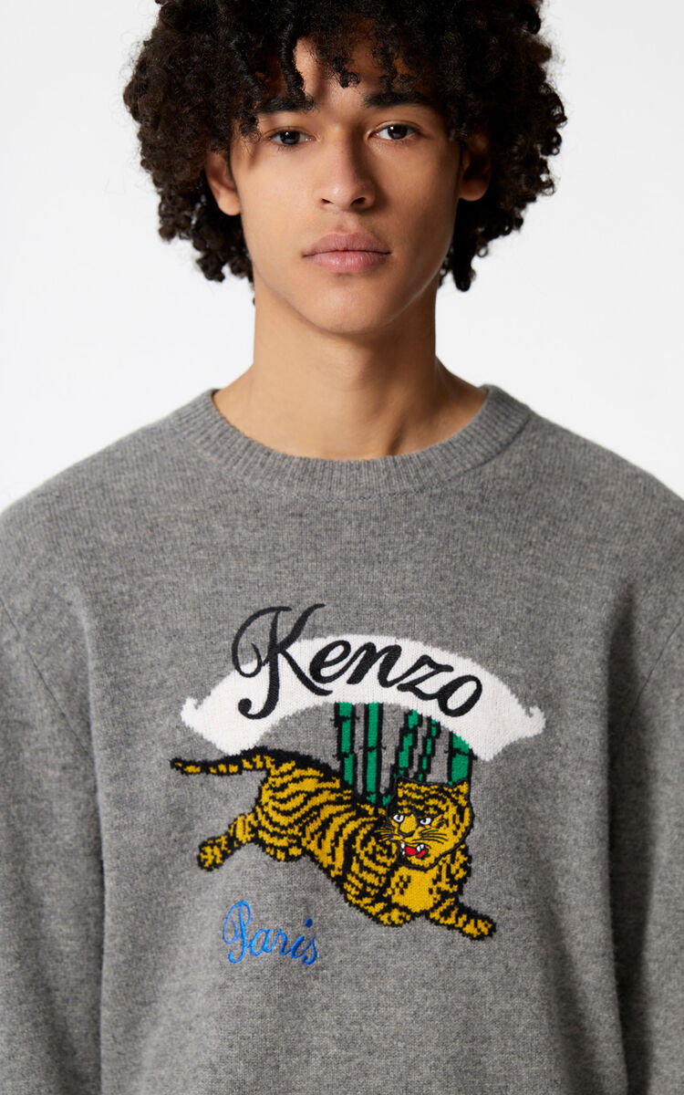 0a931b03a Jumping Tiger' jumper for OUTLET Kenzo | Kenzo.com