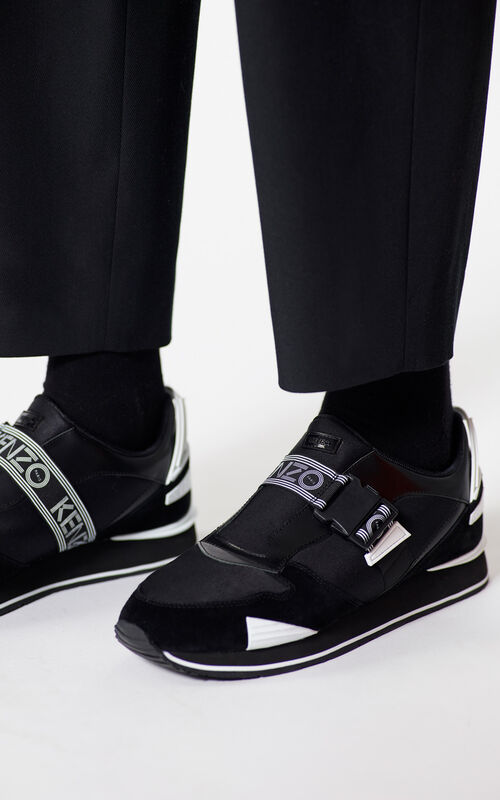 BLACK K-Run sneakers for men KENZO