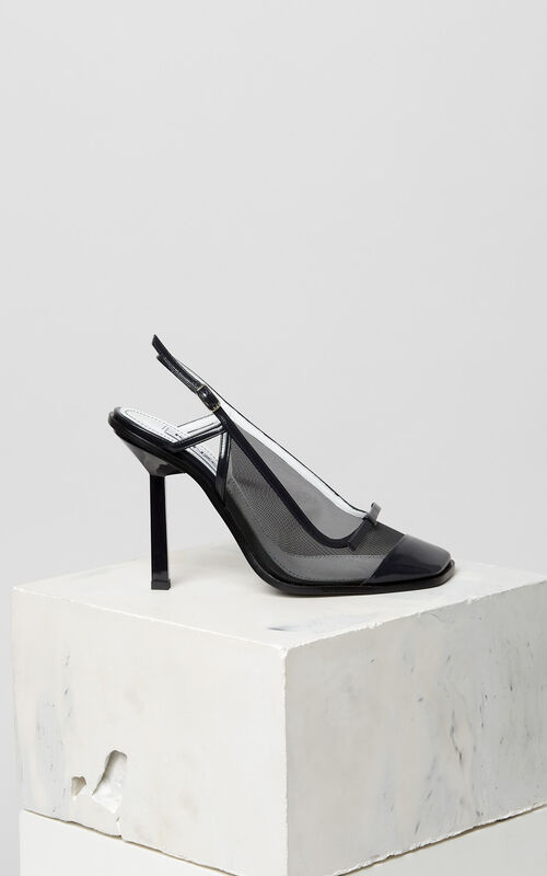 BLACK Torna pumps for unisex KENZO
