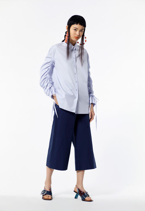 NAVY BLUE Wide-leg trousers for women KENZO