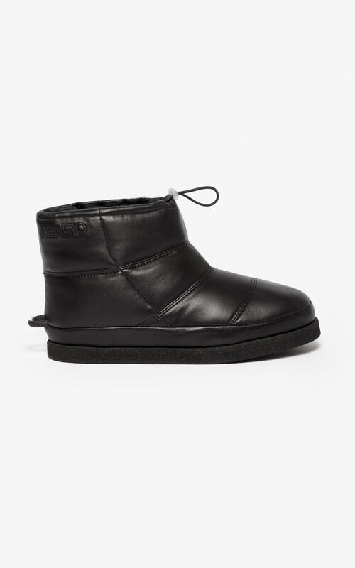 BLACK Kusco boots for unisex KENZO