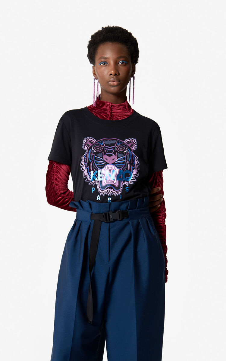 Kenzo Holiday Capsule Collection Embroidered: Tiger T-shirt 'Holiday Capsule' For Kenzo