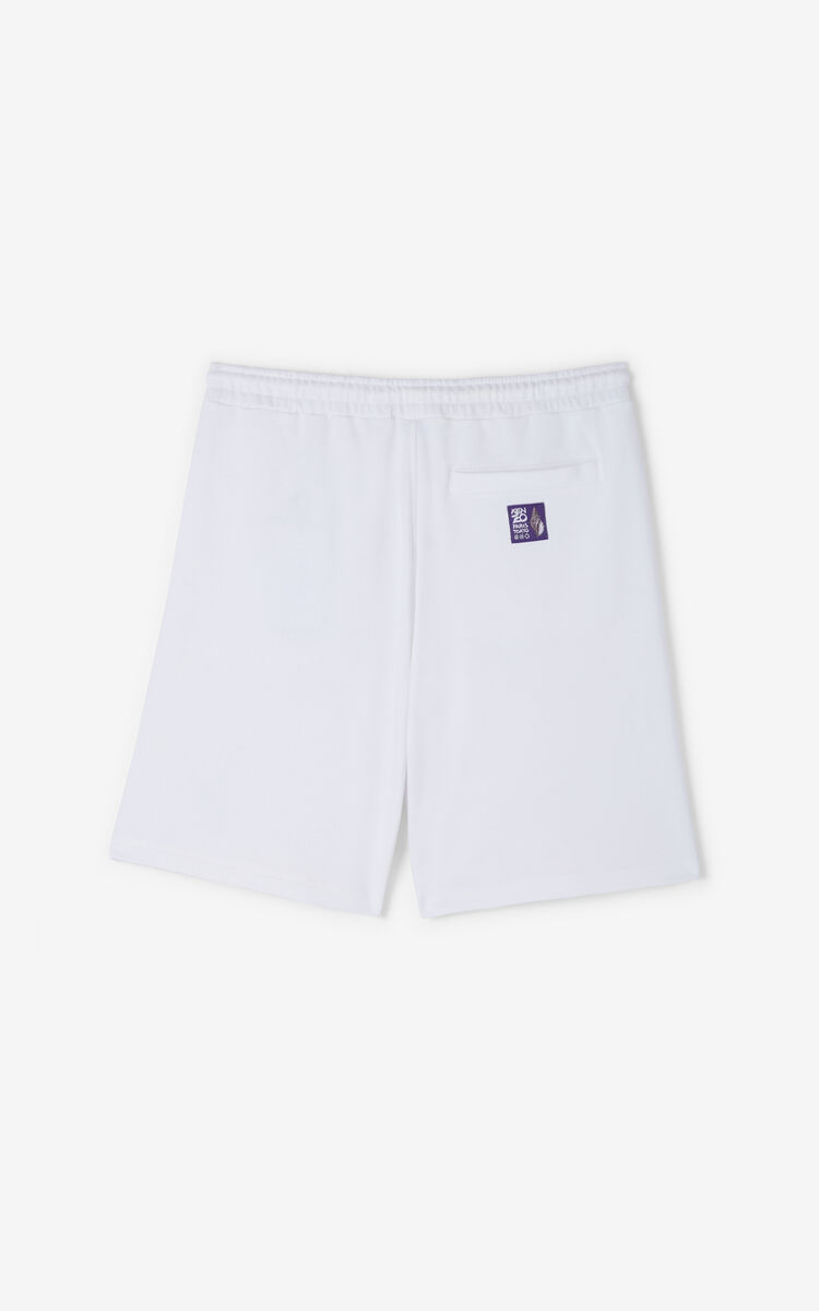 WHITE 'High Summer Capsule Collection' 'Seashells' shorts for women KENZO