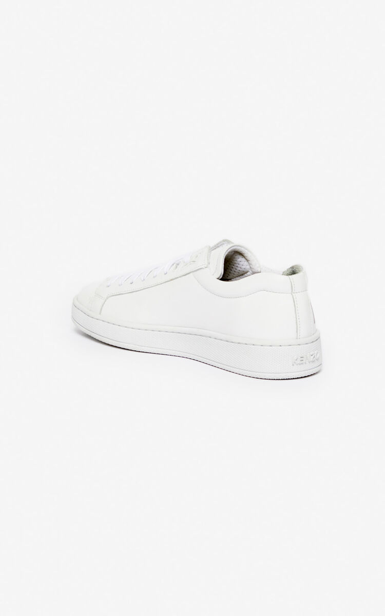 WHITE Tennix sneakers for unisex KENZO