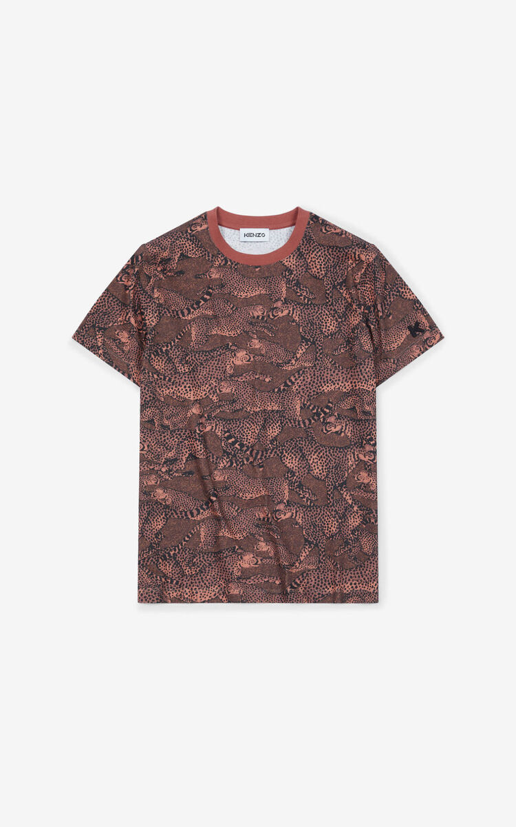 DARK ROSE 'Archive KENZO' loose-fitting T-shirt for women