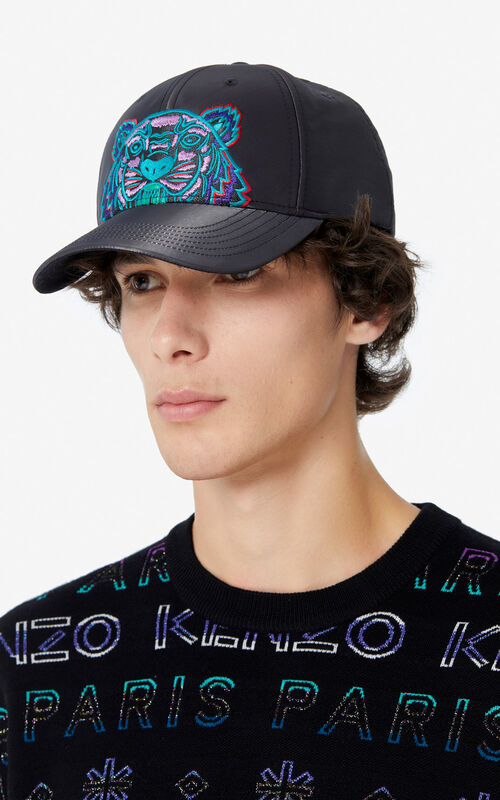 ANTHRACITE 'Holiday Capsule' Tiger 'Kampus' baseball cap for women KENZO