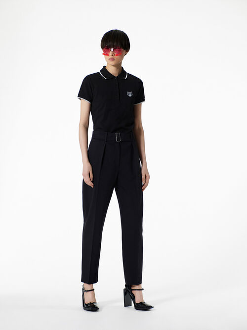 BLACK Carot-Cut Trousers  for women KENZO