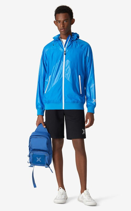 CYAN KENZO Sport 'Little X' wind stopper for men