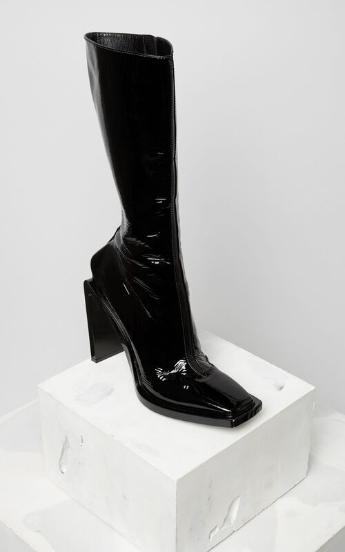 BLACK Kea Heeled boot for women KENZO