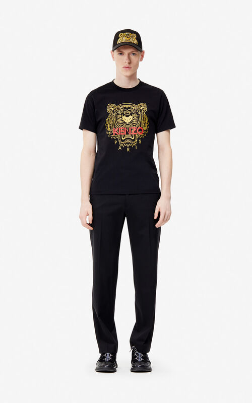 fe585cce5d4 ... BLACK Tiger t-shirt  Exclusive Capsule  for men KENZO
